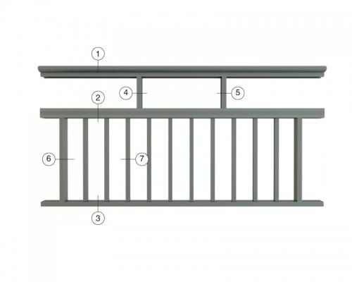 栏杆扶手系列